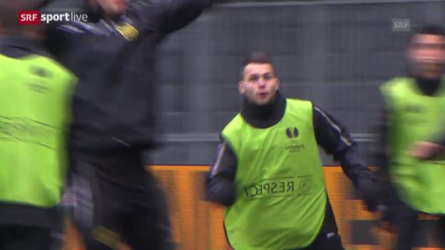 Video «Fussball: EL, Ausblick auf YB-Sparta» abspielen