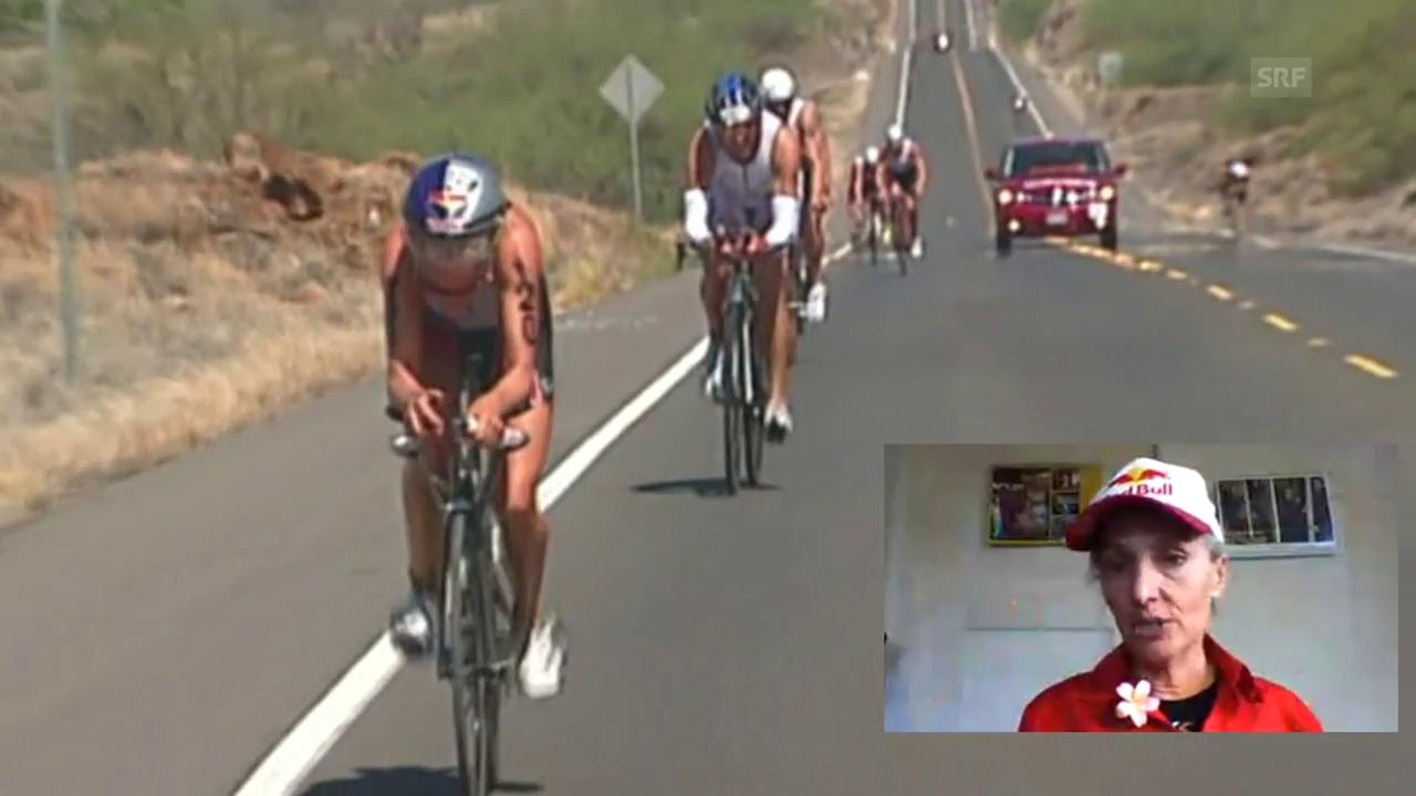 Mit Natascha Badmann auf der Ironman-Strecke