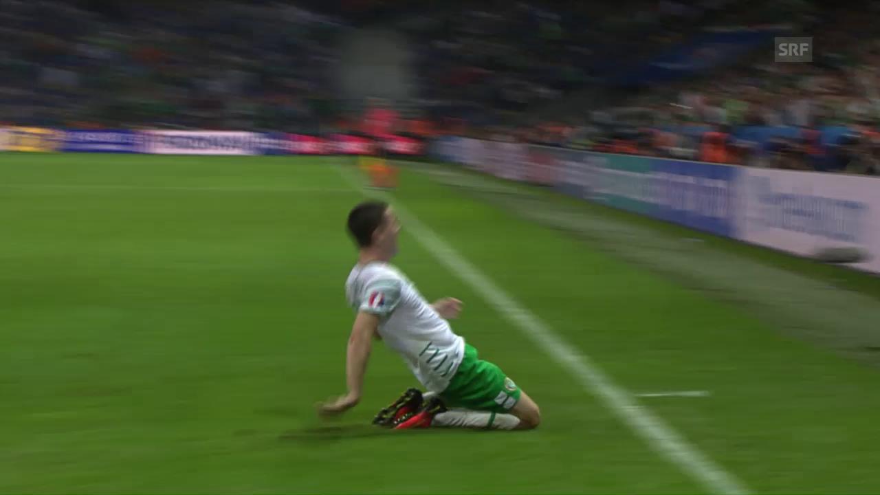 Brady köpfelt Irland ins Glück