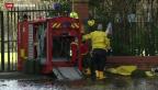 Video «Keine Entwarnung nach Unwettern in Grossbritannien» abspielen