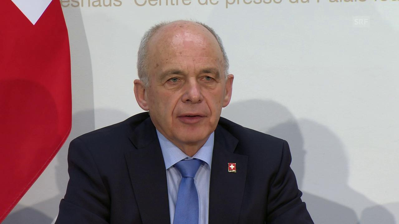 Bundesrat Ueli Maurer zur Finanzordnung 2021