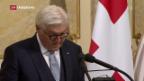 Video «Steinmeier in Bern empfangen» abspielen