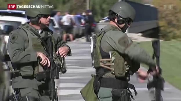 Video «Schiesserei in den USA fordert 16 Tote» abspielen