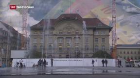 Video «Nationalbank schreibt rote Zahlen» abspielen