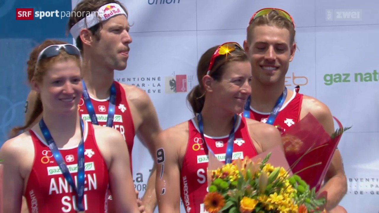 Triathlon: EM in Genf, Mixed-Team-Bewerb