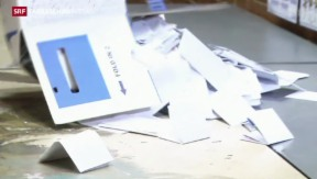 Video «Deutlicher Wahlsieg des ANC zeichnet sich ab» abspielen