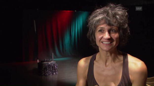 Video ««Aus die Maus»: Fünf Fragen an Nadja Sieger» abspielen