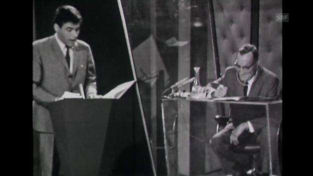 Video ««Dopplet oder nüt» über Wilhelm Busch (2.6.1966)» abspielen