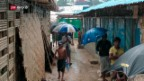 Video «Der Monsun bedroht geflüchtete Rohingyas» abspielen