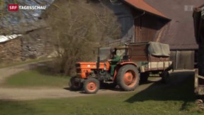 Video «Bauern rechnen mit rückläufigen Erträgen» abspielen