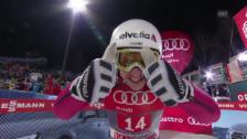 Video «Simon Ammann fliegt wieder - Sprung auf 136 Meter in Bischofshofen» abspielen