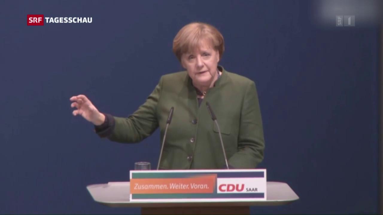 Merkel lanicert Wahlkampf