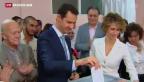 Video «Absurde Wahl in Syrien» abspielen