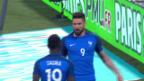 Video «Giroud gegen Schottland in Torlaune» abspielen