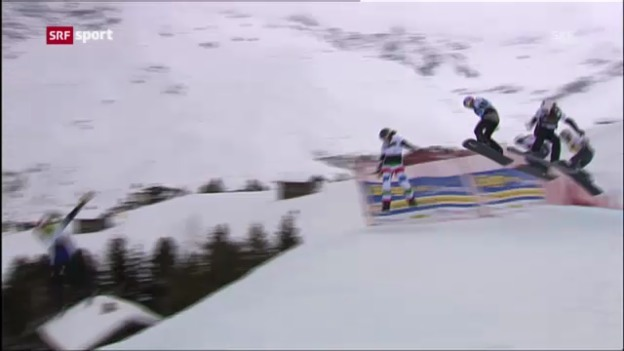 Video «Boardercross in Arosa» abspielen