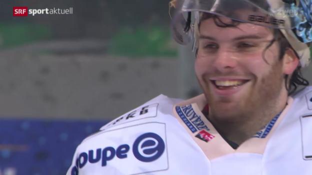 Video «Eishockey: Ambri - Freiburg» abspielen