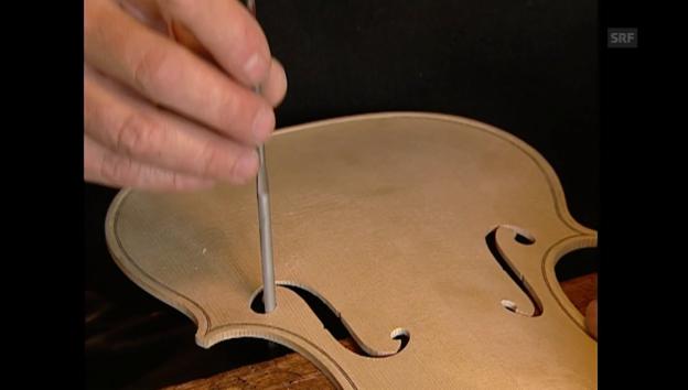 Video «Dossier Orchester: Geigen und Geigenbauer (2/4)» abspielen