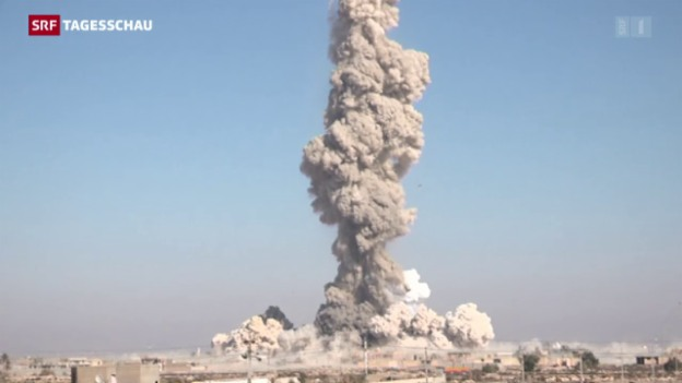 Video «Erfolg gegen den IS vor drei Tagen» abspielen
