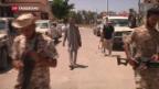 Video «US-Luftschläge auf IS-Hochburg Sirte» abspielen
