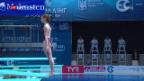 Video «Wasserspingerin Heimberg holt EM-Silber» abspielen