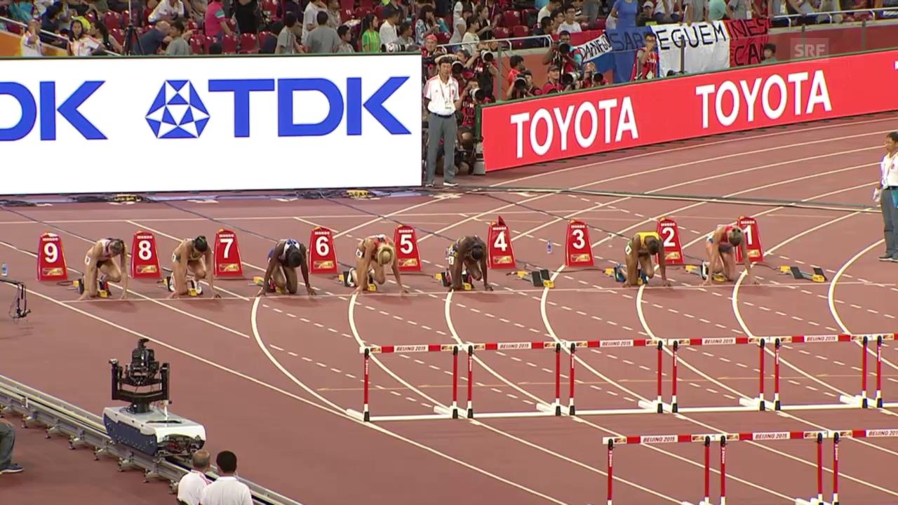 Leichtathletik: WM in Peking, Zbären Halbfinallauf