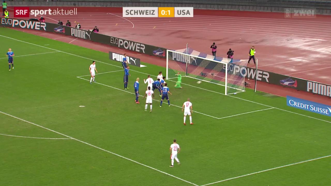 Fussball: Testspiel Schweiz - USA