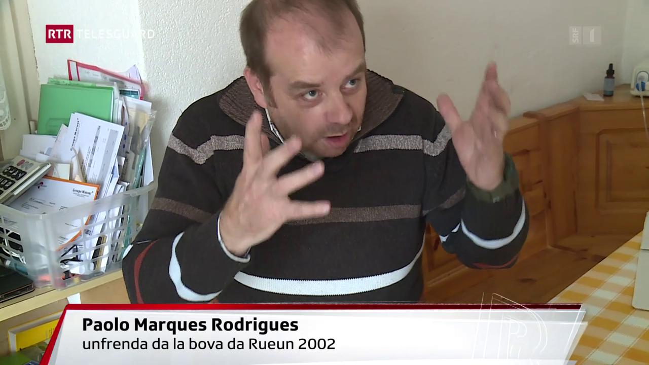 Paulo Marques Rodrigues: 15 onns suenter la bova da Rueun