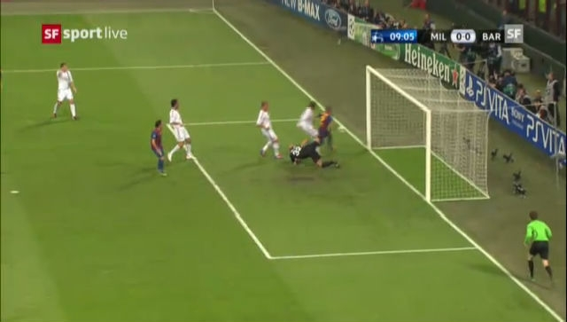 Highlights Milan-Barcelona