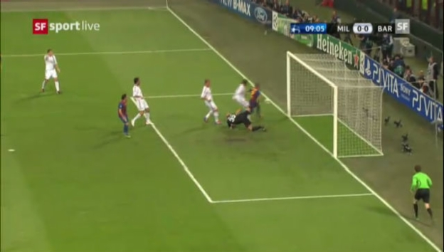 Video «Highlights Milan-Barcelona» abspielen