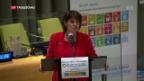Video «Doris Leuthard und die Agenda 2030» abspielen