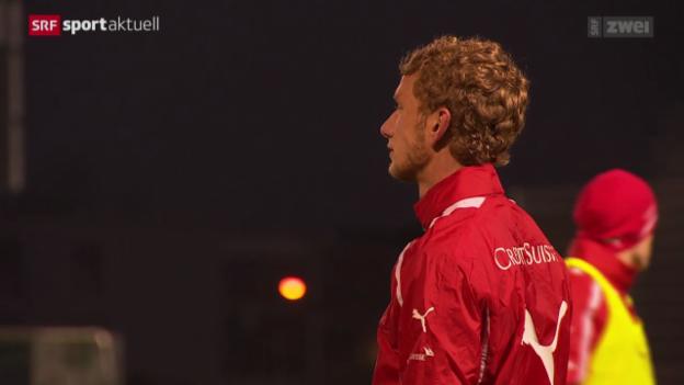 Video «Fussball: Lustenberger zurück in der Nati» abspielen