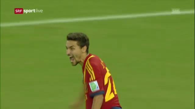 Confed Cup: Navas-Penalty gegen Italien («sportlive»)