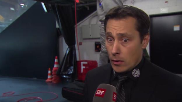 Video «SCB-Coach Boucher über den Druck (englisch)» abspielen