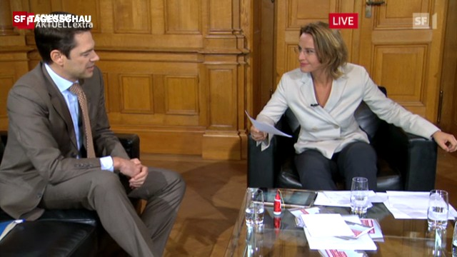 Sonja Hasler im Gespräch mit drei Generalsekretär(inn)en