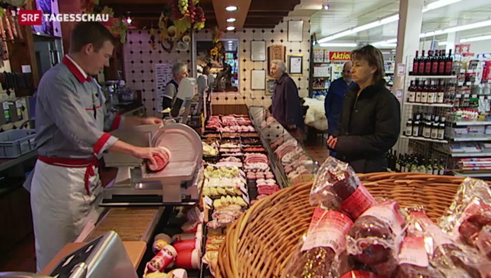 Protest gegen neue Regeln zum Fleischimport