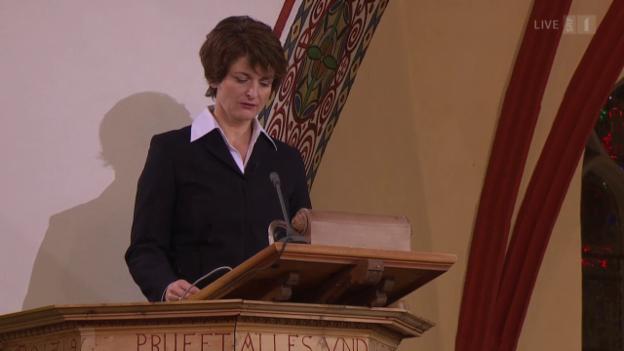 Video «Evangelisch-reformierter Gottesdienst aus St. Johann, Davos Platz» abspielen