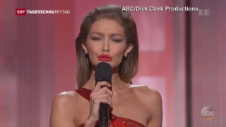 Video «Politische Music-Awards-Verleihung» abspielen