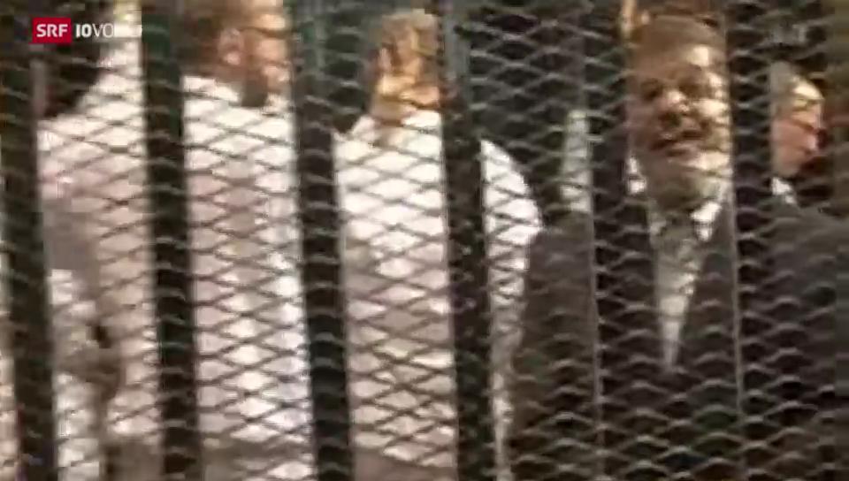 Mursi vor Gericht