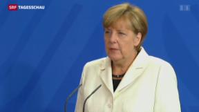 Video «Merkel für Aufnahmequote» abspielen