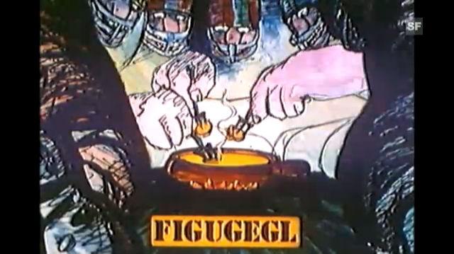 Fondue-Werbung 1982