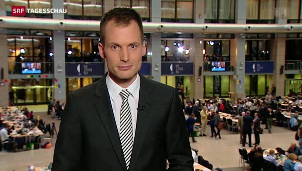 Juncker oder Schulz: Einschätzungen von SRF-Korrespondent Jonas Projer