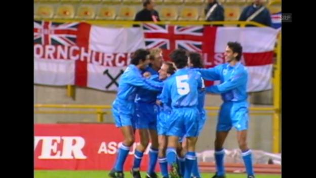 Video «Fussball: San Marino - England, das schnellste Tor der Länderspielgeschichte» abspielen