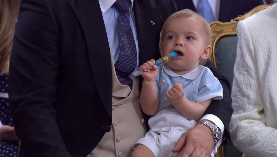 Prinz Nicolas, Sohn von Prinzessin Madeleine