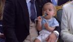 Video «Prinz Nicolas, Sohn von Prinzessin Madeleine» abspielen