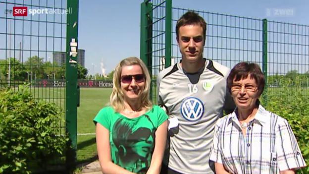 Video «Fussball: Benaglio tritt aus Nati zurück» abspielen