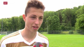 Video «Fussball: Blue Stars Youth Cup in Zürich» abspielen