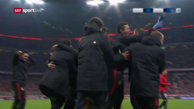 Video «Bayern München - Atletico Madrid: Die Live-Highlights» abspielen