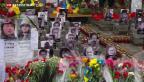 Video «Ukraine gedenkt der Toten vom Maidan» abspielen