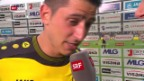 Video «Fussball: Stimmen zu YB - Thun («sportpanorama»)» abspielen