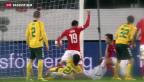 Video «Schweizer Nationalmannschaft mit spätem Spektakel» abspielen